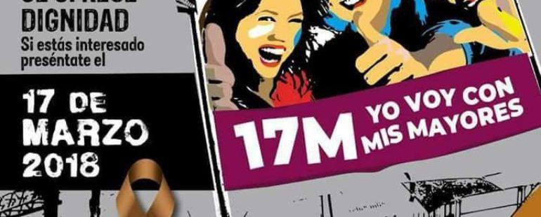 Las pensiones son un derecho y no un privilegio #17M #17MYoVoy