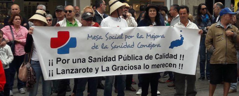 Marea Blanca Canaria a favor de la Salud y la Sanidad Pública en Canarias