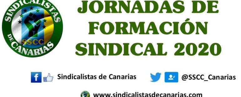 Cursos de Formación 2020 Sindicalistas de Canarias SSCC