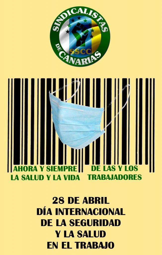28 de Abril, Día Internacional de la Seguridad y la Salud en el trabajo. SSCC