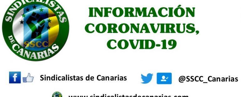 INFORMACIÓN CORONAVIRUS, COVID-19