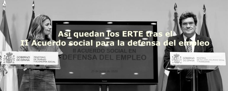 Así queda el II Acuerdo social para la defensa del empleo