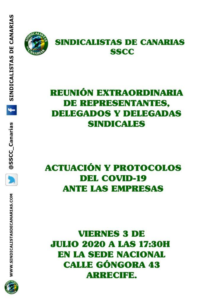 CONVOCATORIA NACIONAL DE LA CONFERENCIA SECTORIAL DE HOSTELERÍA DE REPRESENTANTES UNITARIOS Y DELEGADOS SINDICALES
