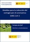 Campos de Golf. Directrices y recomendaciones.
