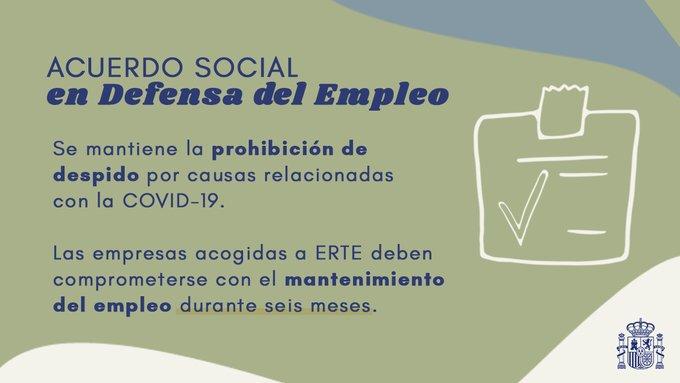 III Acuerdo Social en defensa del empleo
