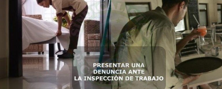 CÓMO DENUNCIAR ANTE LA INSPECCIÓN DE TRABAJO