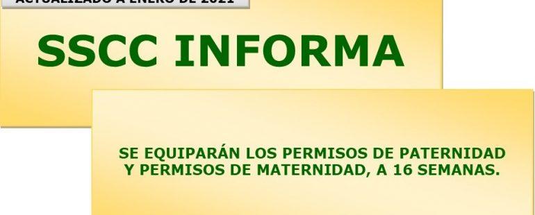 Se iguala el permiso de paternidad con el permiso de maternidad, 16 semanas