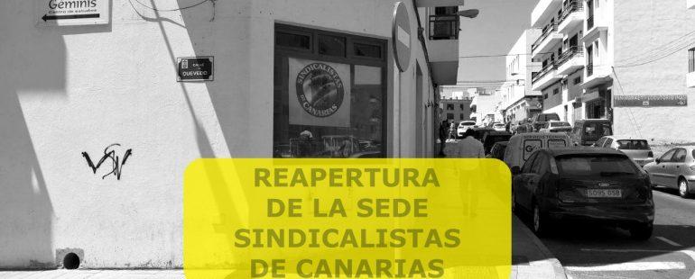 REAPERTURA SEDE NACIONAL SSCC