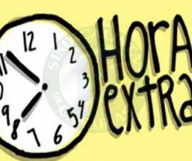 LAS HORAS EXTRA(ORDINARIAS)